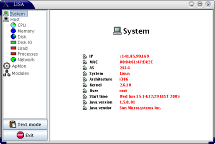 System Monitoring Module